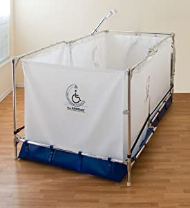 Reclining Portable Wheel Chair Handicapped Showers System 10 Year Warranty O