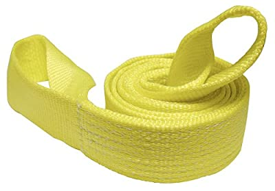 Keeper 02953 Winch Strap Tree Saver With Loops 6' x 3'' 10,000 lb Vehicle Capacity