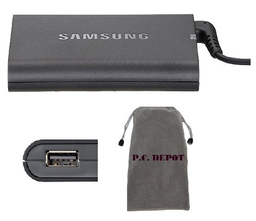 Bundle: 3 items - Adapter/Power Cord/Free Carry Bag:Samsung Slim AC Adapter 19V 4.74A 90W for Samsung:R730 Notebook,RC512-S01 Notebook,RF510-S01 Notebook,RF511-S02 Notebook,RF711-S02 Notebook,RV510-A02 Notebook,RV511-A01 Notebook,100% Compatible with P/N:AA-PA3NS90,AA-PA1N90W,AA-PA1N90W/US,AD-9019,AD-9019M, AD-9019SL. (Samsung 900x3d compare prices)