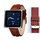 Wrist Jockey Executive - Tan Calfskin Leather (iPod nano watch band)
