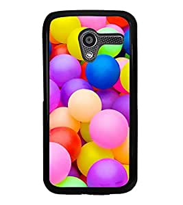 Colourful Balls 2D Hard Polycarbonate Designer Back Case Cover for Motorola Moto X :: Motorola Moto XT1052 XT1058 XT1053 XT1056 XT1060 XT1055