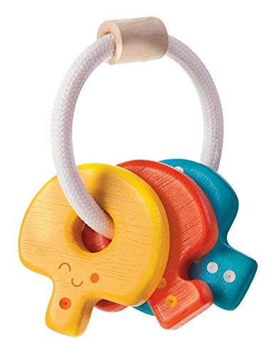 Plan Toys Baby Key Rattle - 1