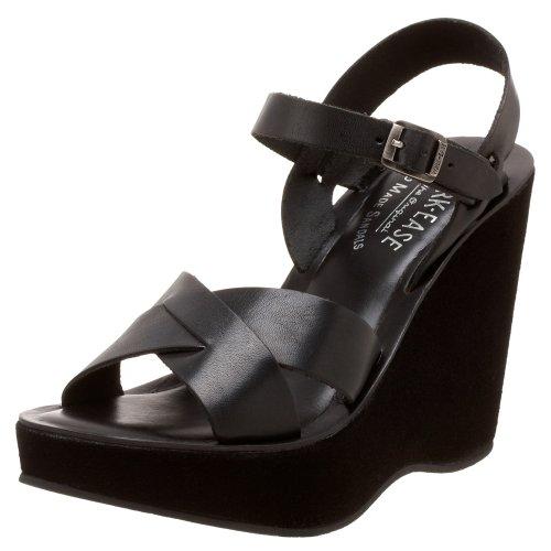 Kork-Ease - Sandalo Bette 010 Buffy Black, Taglia: 38