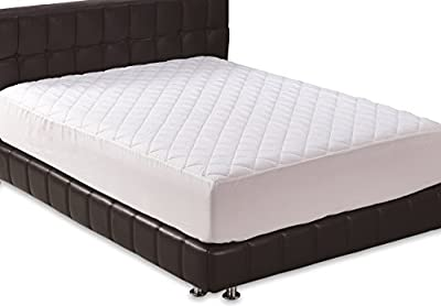 Utopia Bedding Quilted Fitted Mattress Pad Cover