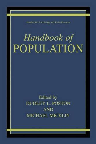 Handbook of Population (Handbooks of Sociology and Social Research)