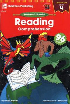 FRANK SCHAFFER PUBLICATIONS HOMEWORK BOOKLET READING COMPRE. 4LEVEL 4 - 1