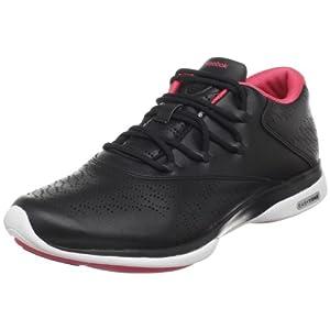 Reebok Easytone Trend II, Chaussures multisport femme, Noir/Rose/Blanc, 39 EU