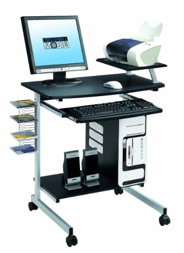 Buy Low Price Comfortable Mad Tech 35.5x20x28 Graphite Mdf Panel & Steel Frame Computer Office Desk Table (B004W0MBJ2)