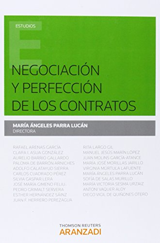 Negociación Y Perfección De Los Contratos (Monografía)