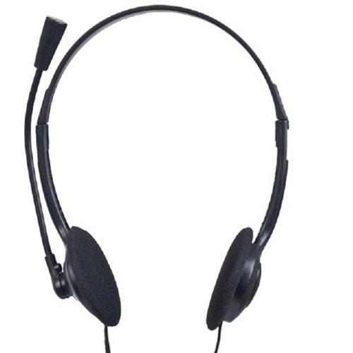Gembird Live Chat Stereo Headset & Boom Mikrofon Skype MSN Kopfhörer