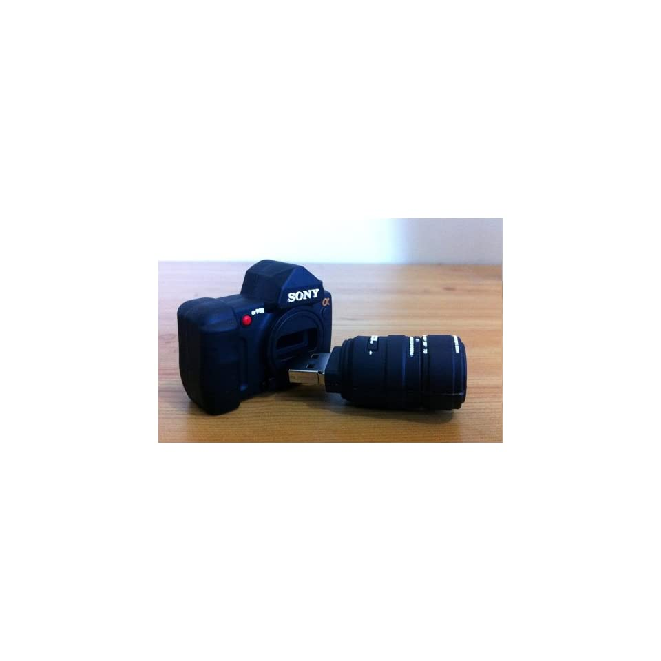 E.T. 4GB Mini SONY DSLR Camera USB Flash Drive Funny Memory Stick
