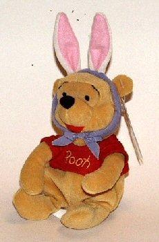 Disney Mouseketoys Pooh Bear Beanbag
