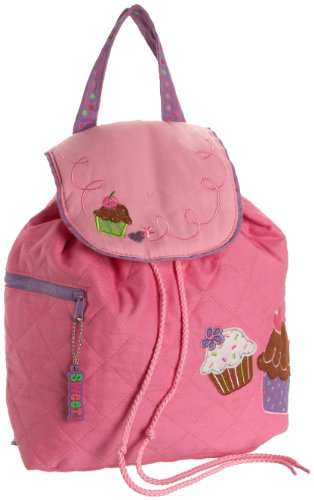 Stephen Joseph Girls 2-6x Cupcake Quilted Backpack