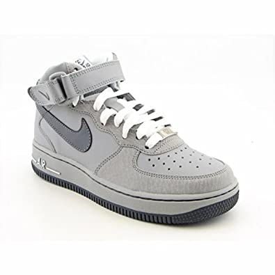 Nike Air Force 1 Mid (Big Kids) Basketball by Nike