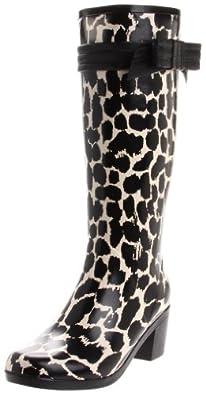 Kate Spade New York Women's Randi Too Boot,Cream/Black,7 M US