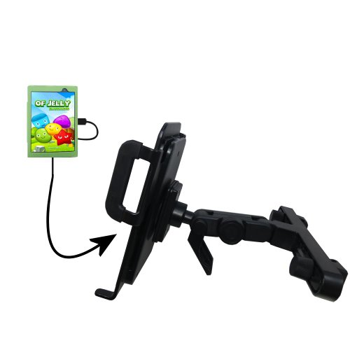 Innovative Headrest Vehicle Mount to Support Le Pan Mini Tablet by Gomadic at Electronic-Readers.com