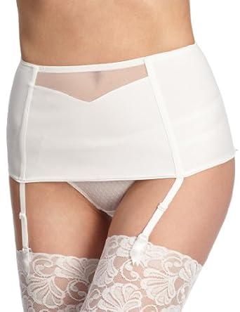 Triumph - Porte Jaretelle - Femme - Blanc (White (03)) - FR: 75 (Taille fournisseur: 60)
