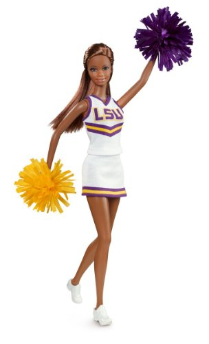 Barbie Collector Louisiana State University African-American Doll
