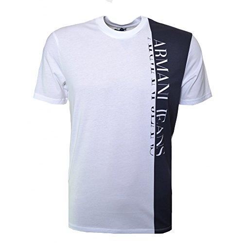 Armani Jeans pannello vestito da lavoro bianco bianco XXXL