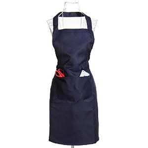 Tablier Cuisine Serveur Blouse Vêtement Restaurant Bar Personnalisé Poche Femme