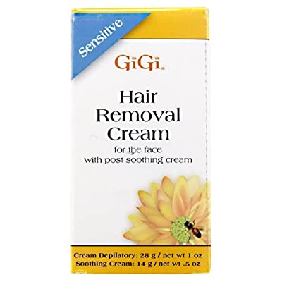 Best Cheap Deal for Sensitive Hair Removal Cream For Face with slow growth soothing cream (14g/net wt .5oz) from AII/GIGI - Free 2 Day Shipping Available