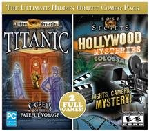 Hidden Mysteries: Titanic and Hollywood Mysteries 2-Pack