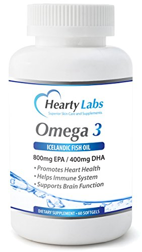Omega 3 icelandic fish oil triple strength high potency for Fish oil pills for buttocks review