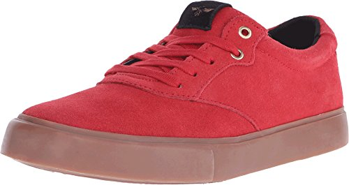 Creative Recreation Men's Prio Fashion Sneaker, Red Gum, 7.5 M US