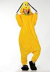 VU ROUL Unisex-adult Onesies Halloween Kigurumi Dog Costume Pajamas