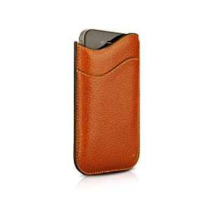 Beyza Leather ID Slim Series Pouch Case for iPhone 4 / 4S