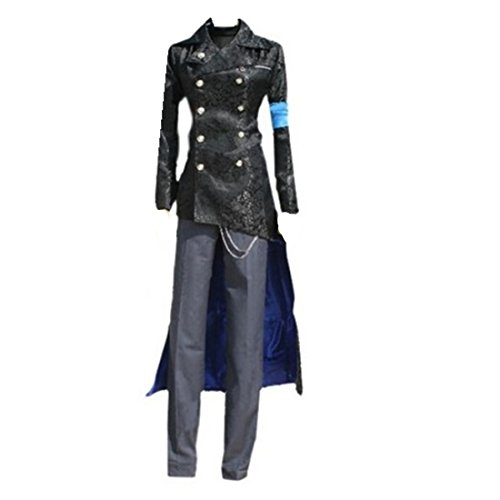 Devil May Cry DMC 5 Vergil Black Cosplay Trench Coat Costume