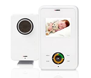 Lorex LW2004 Video Baby Monitor with 2.4-inch LCD and Automatic Night Vision