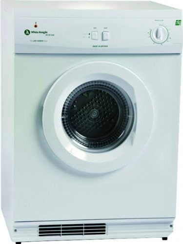 White Knight ECO43AW Gas Heated Tumble Dryer White