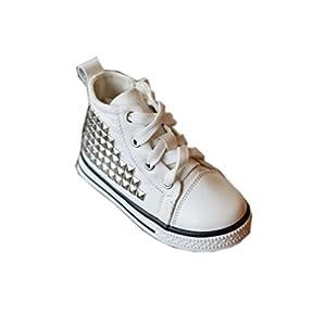 V-SOL Shoes / Zapatillas Para Bebé Niñas De Bota Con Remache por V-SOL - BebeHogar.com