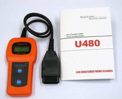 OBD2 コードスキャナー故障診断機  CAN対応【保障付】
