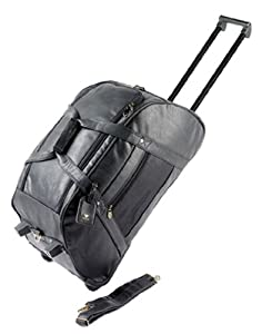 Falcon, BD-8166, Balmoral Trolley Holdall, Black from Falcon
