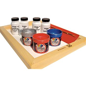 Speedball Super Value Opaque Fabric Screen Printing Kit