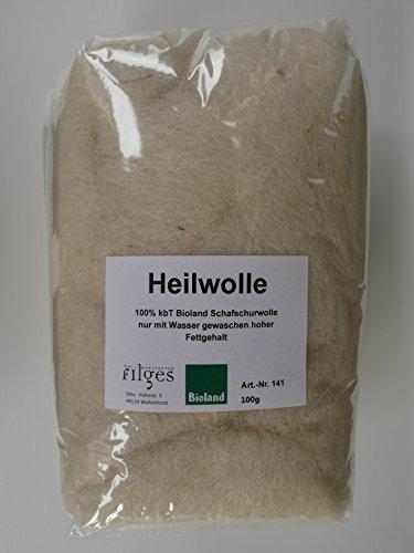 Fettwolle 100 Gramm - Ohrenwolle - Babypflege - Nabelpflege - Ohrenschmerzen - Rheuma - Stilleinlagen - Erkältung