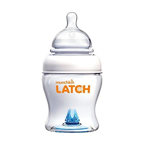 Munchkin Latch BPA-Free Baby Bottle, 4 Ounce, 1 Pack