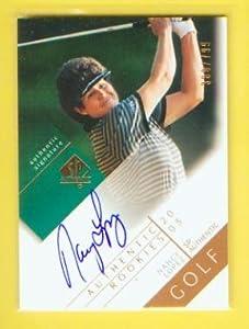 Nancy Lopez Autograph 2003 Upper Deck SP Authentic Rookies Card #109 & # 799... by SP Authentic