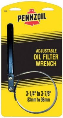 Custom Accessories 19403 Large Pennzoil Oil Filter Strap Wrench - Quantity 6