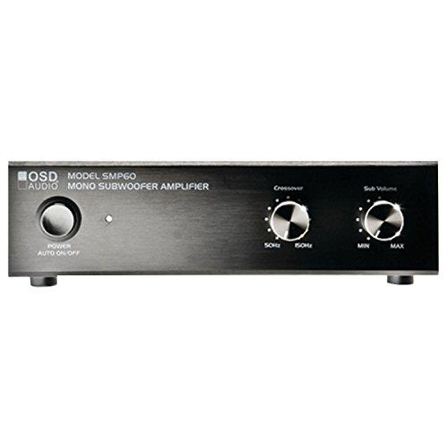 OSD Audio SMP60; 75-Watt Peak Class A/B Subwoofer Amp w/ Variable High Cut Filter & Volume Knob