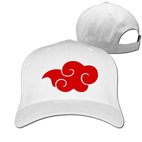 TLK Cool Akatsuki Cloud Logo Unisex-Adult Hip Hop Hats White (Nissan Patrol Emblem compare prices)