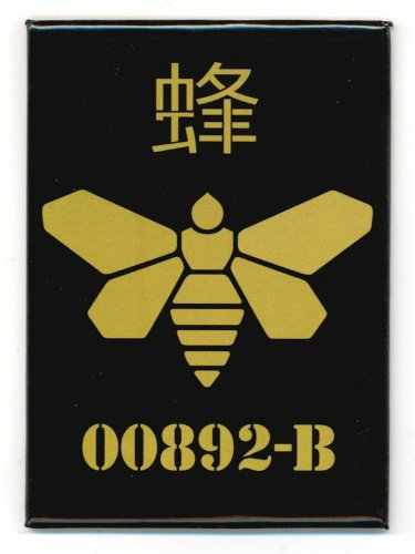 Breaking Bad Gold Moth Logo Magnet - 1