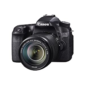 Canon EOS 70D Digital SLR Camera with 18-135mm STM Lens
