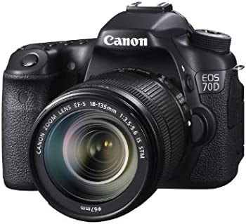 Canon EOS 70D 20.02MP FHD DSLR with 18-135mm IS STM Lens