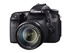 Canon EOS 70D 20.2 MP Digital SLR Camera with Dual Pixel CMOS AF and EF-S 18-135mm F3.5-5.6 IS STM Kit