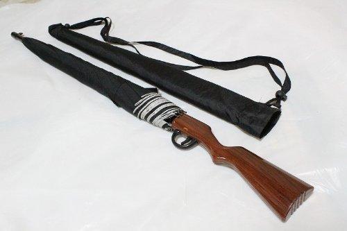 猟銃 ライフル銃型 傘 ノーマルタイプ 中型 アンブレラ