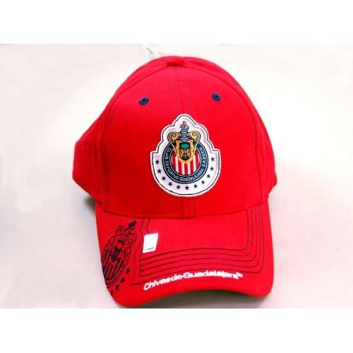 CHIVAS de GUADALAJARA OFFICIAL TEAM LOGO CAP / HAT   CV008