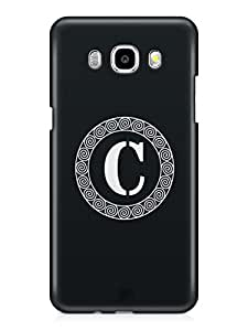 YuBingo Monogram with Beautifully Written letter C Mobile Case Back Cover for Samsung Galaxy J7 2016